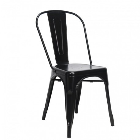 Tolix chair Zwart