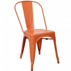 Tolix chair Oranje