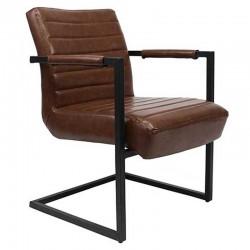 Bentley Industriële fauteuil bruin