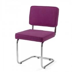 Bruut Ridge Rib stoel Violet