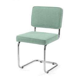 Bruut Ridge Rib stoel oud groen
