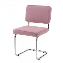 Bruut Ridge Rib stoel oud roze