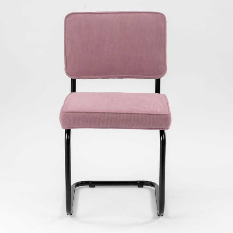 Wonderbaar Bauhaus design Rib Stoel oud roze eetkamerstoel/kantoorstoel met FX-37