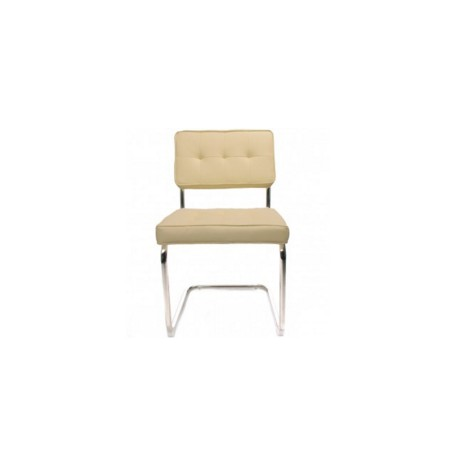 Bauhaus plus pu cr me for Bauhaus design stoelen